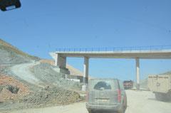 Marokkanische Autobahn