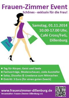 Flyer Frauen-Zimmer Event