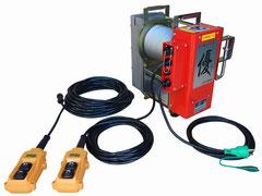 優ウインチUP727-2(2スピード) 荷揚げ機用電動ウインチ