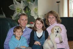 Familie Naß mit Gallic-Diego