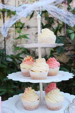 Bild: Ideen für eine Pimp-Your-Cupcake Bar, gefunden auf Partytories.de