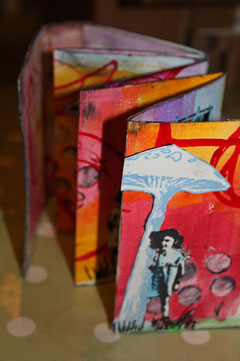 Mini Accordian Art Journal