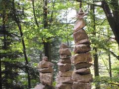 Lebensweg - Steine am Weg
