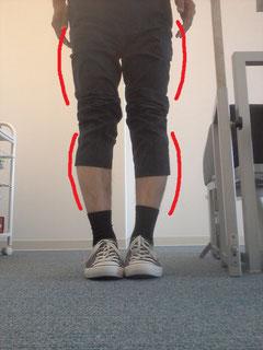整体師の膝