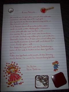 Geburtstagsbrief an mein Kind