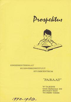 Landelijke prospectus.
