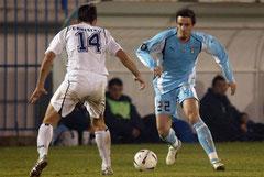 Heimtrikot Uefa-Cup. Ohne Sponsor.