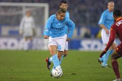 Halbfinaltrikot Coppa Italia. Sponsor Compex.