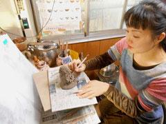 絵を描くような気持ちと重なる制作過程(彫塑) 美術家 立花雪 YukiTachibana