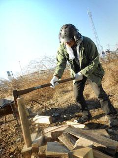 薪割り 小林夢狂 MukyoKobayashi