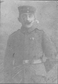 Otto Gehrk in Uniform