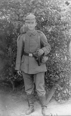 Ernst Vogel am 22.09.1917
