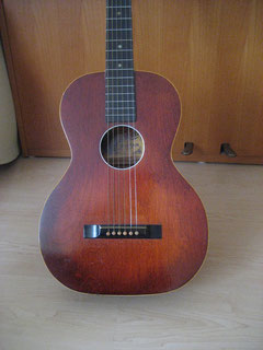 TypicaL OS all birch Stella with red sunburst finish, poplar neck and a black stained fingerboard.