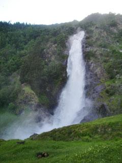 Wasserfall Partschins Südtirol