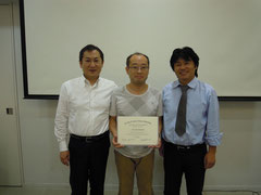 鈴木真名先生、松本邦夫先生と
