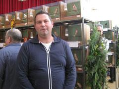 Ein treuer Besucher und Meisterzüchter Freund Zapfel Jürgen!
