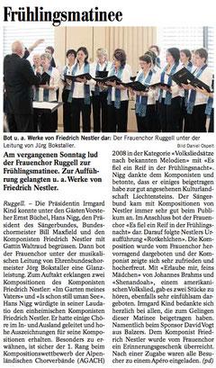 Lokalzeitung Vaterland, 20.04.2010