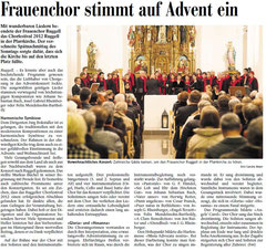 Lokalzeitung Vaterland, 3. Dezember 2012