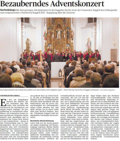 Lokalzeitung Volksblatt, 3. Dezember 2012