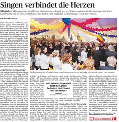 Lokalzeitung Volksblatt, 24. September 2012