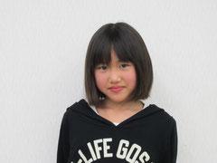 凛々しい「三郎太」を演じるヒナです