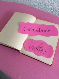 Kundenstimmen, Gästebuch