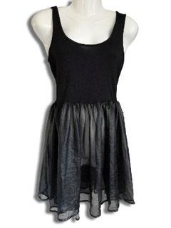 Preisgünstiges Sommer-/Partykleid in schwarz glänzend Gr.S atmosphere