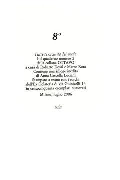colophon numerato