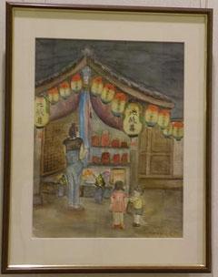 楽音寺の地蔵盆
