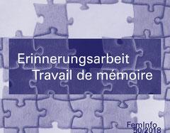 FemInfo 50 2018 - Erinnerungsarbeit