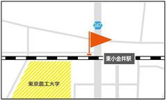 ●JR中央線・東小金井のポート