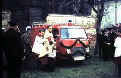 Ford FK 1250 bei der Weihe 1965