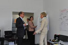 Als Teilnehmer in einem Workshop zur Weiterentwicklung einer Unternehmensberatung, toller Event, 12.04.2013