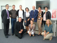 Great spirit during an International Negotiation Training in Mettmann,Food Industry, September 2012