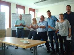 Spaß & Active Teamwork, Seminarreihe eines langjährigen Kunden, 3 Tages Seminar, München, 25.-27.06.2012