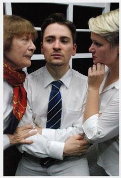 mit Hertha Georg (l.) und Judith Achner (r.)