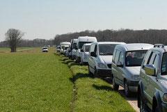 La longue caravane des Fiels