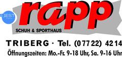 Schuh- & Sporthaus Rapp