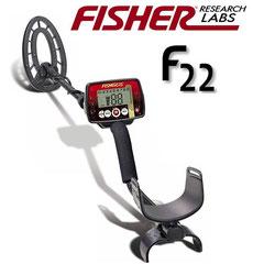 Metalldetektor Fisher F22