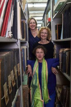 Annelie Groth, Jeannette La-Deur,  Rita Huber-Süß