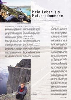 Reisebericht Zivildienstzeitung