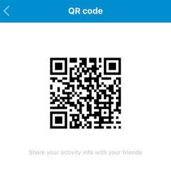 Сканируй этот QR-код чтоб стать моим другом в приложении Mi Fit:)