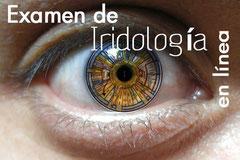 Obtén tu examen de Iridología en línea