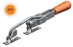 Verschlussspanner / Bügelspanner C-Befestigung mit U-Fuß
