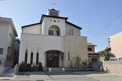 アッセンブリー大津キリスト教会が完成しました。