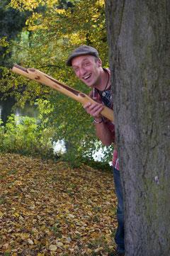 Didgeridoo spielen macht glücklich! ;)
