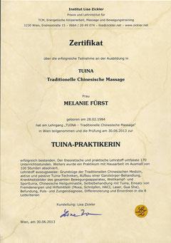 Mein Zertifikat