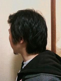 フリーフォームによるドレッドの自作開始。 Japanese freeform dreadlocks start!