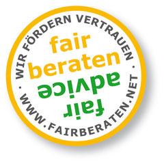 Mitglied im Netzwerd fairberaten.net