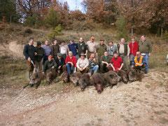 10 senglars morts al pujol del racó